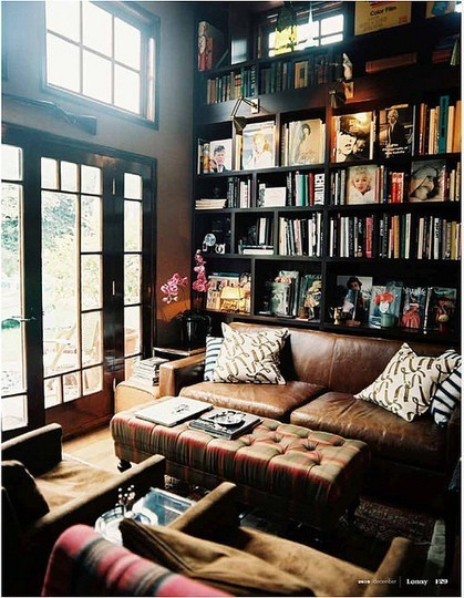 Living Room Like A Library: My Own Private Library